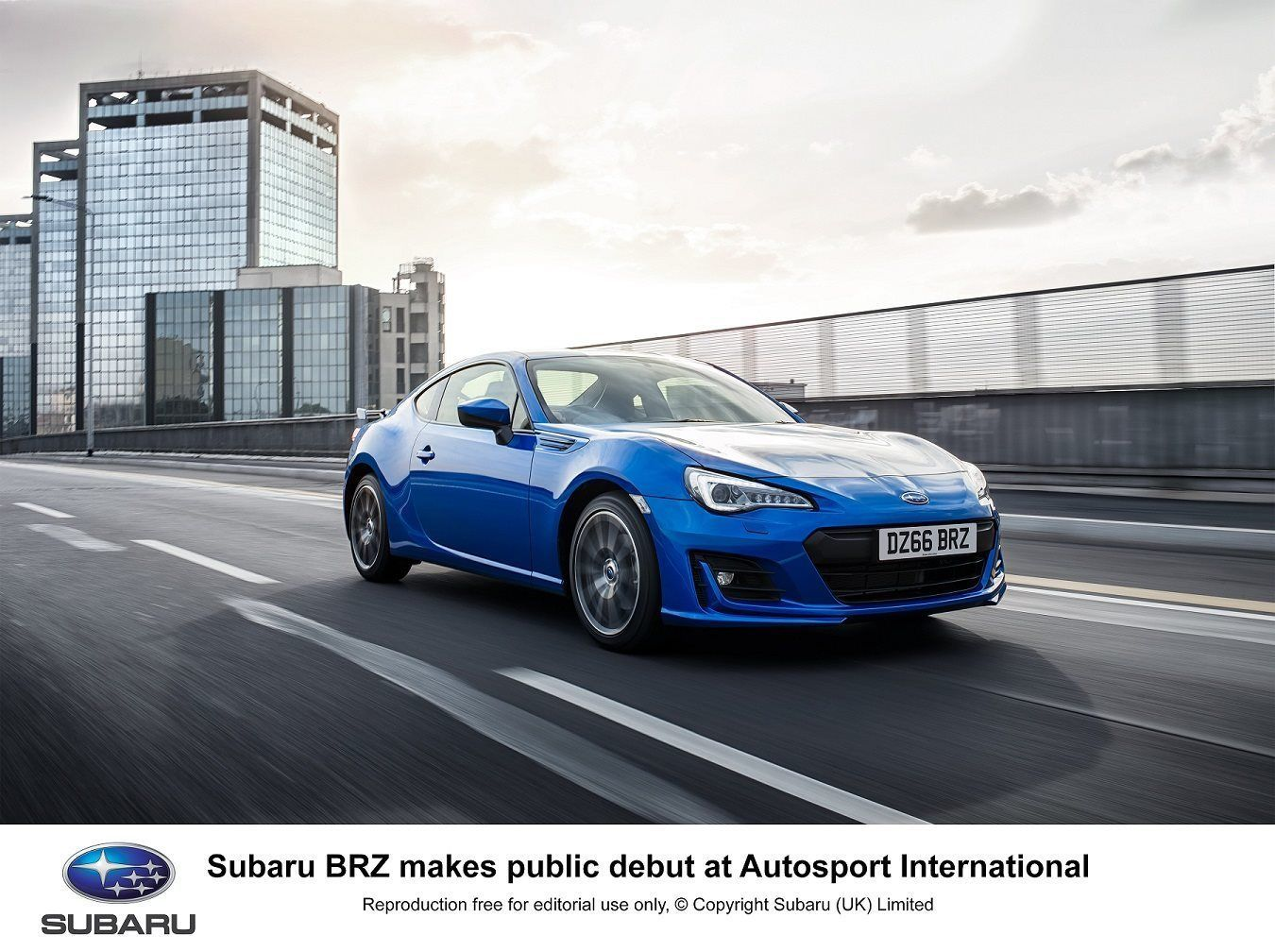 SUBARU BRZ MAKES PUBLIC DEBUT AT AUTOSPORT INTERNATIONAL