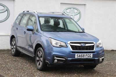 Subaru Forester 2.0 XE 4 X 4 PREMIUM LINEARTRONIC Estate Petrol Blue at Helensburgh Subaru Helensburgh